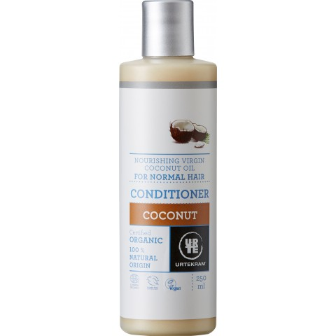 Urtekram - Coconut - Normal Hair Conditioner - 250 ml