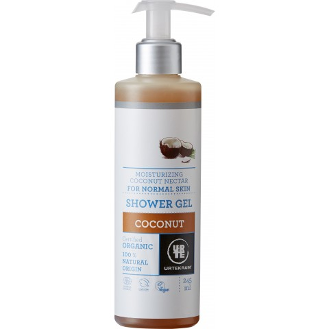 Urtekram - Coconut - Shower Gel - 245 ml