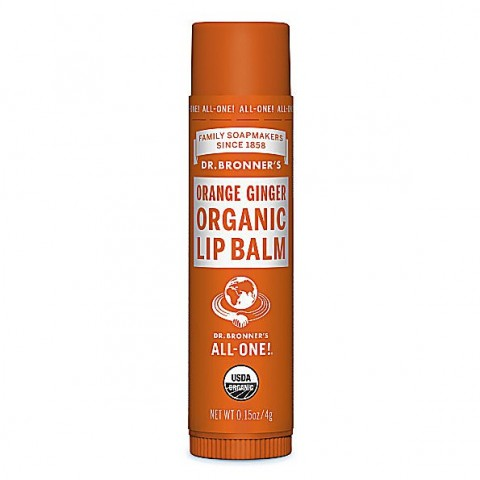Dr Bronner's - Orange Ginger - Lip Balm - 4 gr