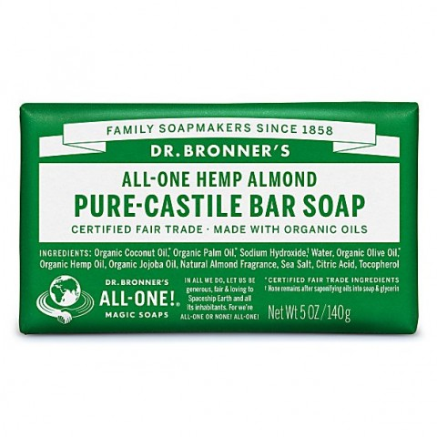 Dr Bronner's - Almond - Soap Bar - 140 gr