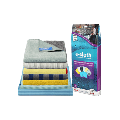 E-Cloth - Home Cleaning Set - 8 Cloths