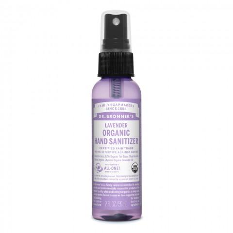 Dr Bronner's - Lavender - Organic Hand Sanitizer - 02 oz/59 ml