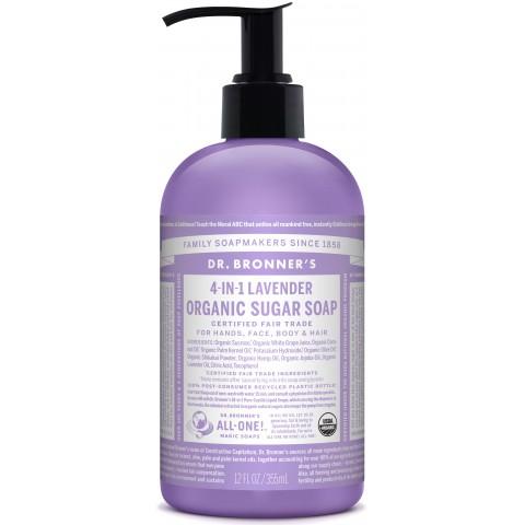 Dr Bronner's - Lavender - Pump Soap - 12 oz/355 ml