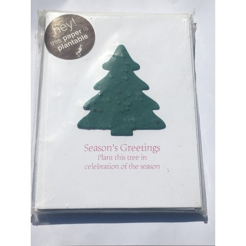 Botanical Paperworks - Plantable Spruce Festive Christmas Trees - Set of 6