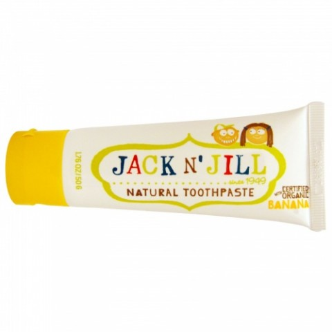 Jack N' Jill - Natural Toothpaste - Banana - 50 gr