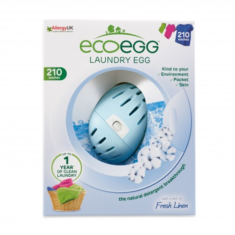 Ecoegg - Laundry Egg - 210 Washes - Fresh Linen