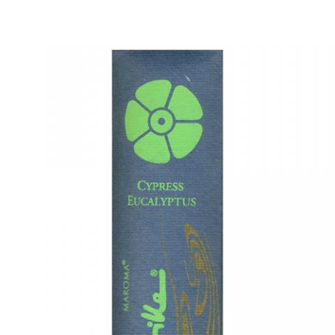 Maroma - Encens d'Auroville - Cypress Eucalyptus - 10 Incense Sticks