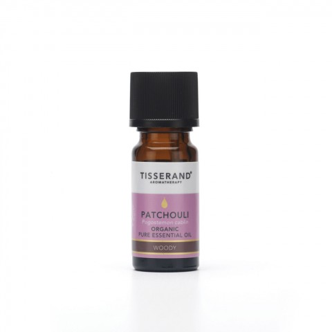 Tisserand - Organic Pure Essential Oil - Patchouli - 9 ml