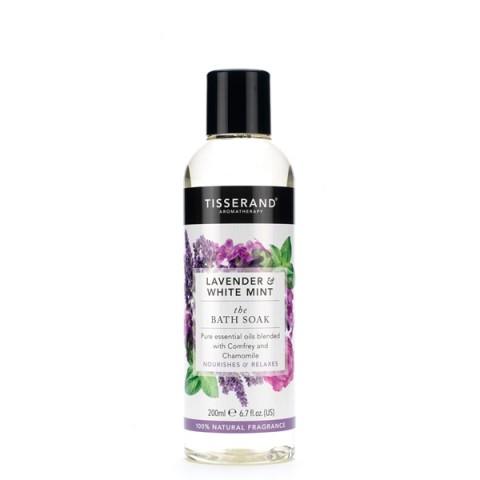 Tisserand - Lavender & White Mint - Bath Soak - 200 ml