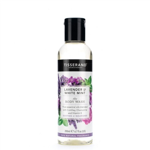 Tisserand - Lavender & White Mint - Body Wash - 200 ml