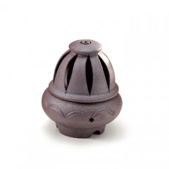 Flame - Mysore - Terracotta Incense Burner