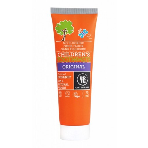 Urtekram Organic Original Childrens Toothpaste 75ml