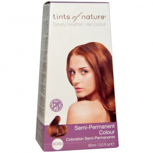 Tints of nature - Semi Permanent Hair Colour - 6CRD Copper Red