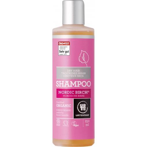 Urtekram - Nordic Birch - Dry Hair Shampoo - 250 ml