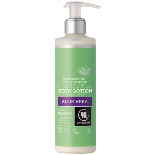 Urtekram - Aloe Vera - Body Lotion - 245 ml