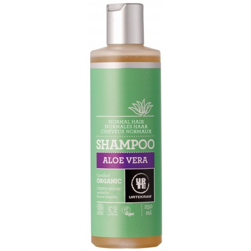 Urtekram - Aloe Vera - Normal Hair Shampoo - 250 ml