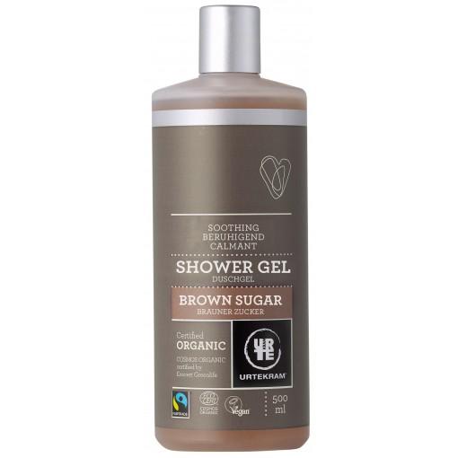 Urtekram - Shower Gel - Brown Sugar - 500 ml