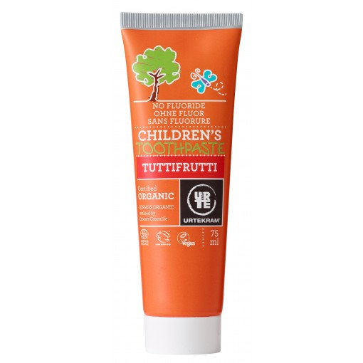 Urtekram - Tuttifrutti - Children's Toothpaste - 75 ml