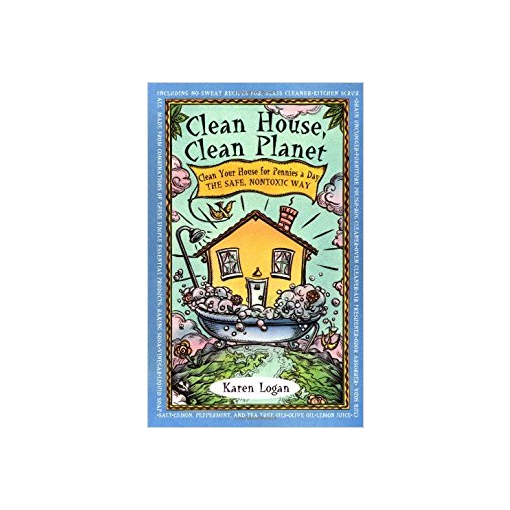 Clean House, Clean Planet: Clean Your House for Pennies a Day, the Safe, Nontoxic Way Paperback