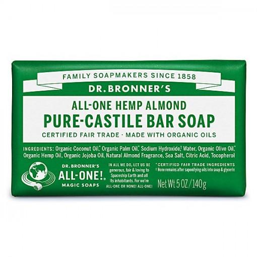 Dr Bronner's - Almond - Soap Bar - 140 gr