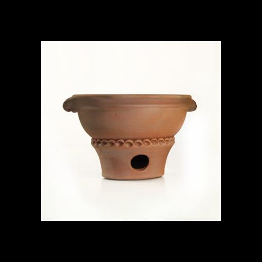 Flame - Tanjore - Terracotta Incense Burner