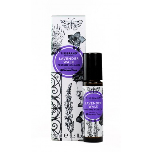 TISSERAND AROMATHERAPY PERFUMED ROLL-ON INSPIRED BY THE NATIONAL TRUST-LAVENDER WALK