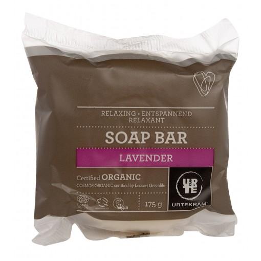 Urtekram - Lavender - Round Soap Bar - 175 gr