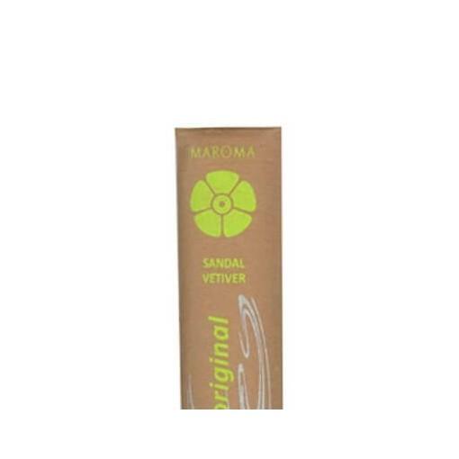 Maroma Incense Encens d'Auroville 10 Sticks, Sandal Vetiver