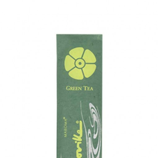 Maroma - Encens d'Auroville - Green Tea - 10 Incense Sticks