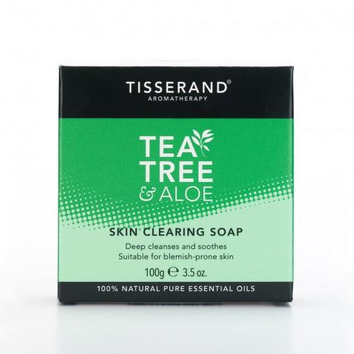 Tisserand - Tea Tree & Aloe - Skin Clearing Soap - 100 gr