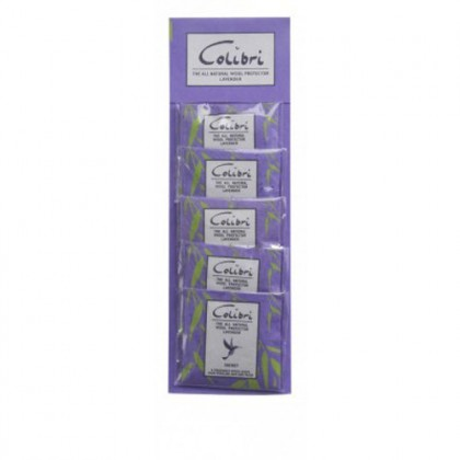 Colibri - Wool Protect Lavender Mini Sachets - Strip of 5