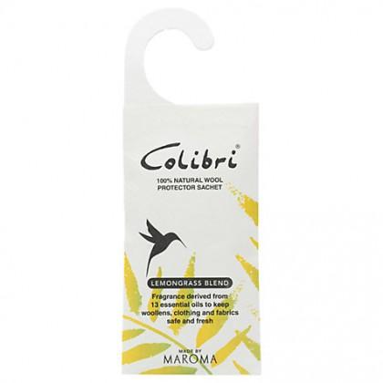 Colibri - Wool Protector - Hanging Sachet - Lemongrass