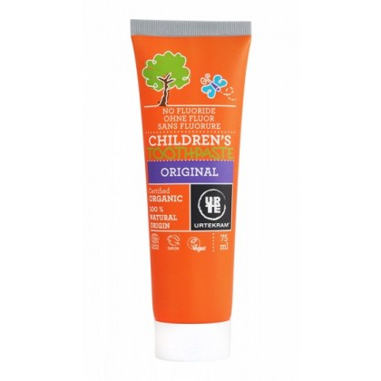 Urtekram Organic Original Childrens Toothpaste 75ml
