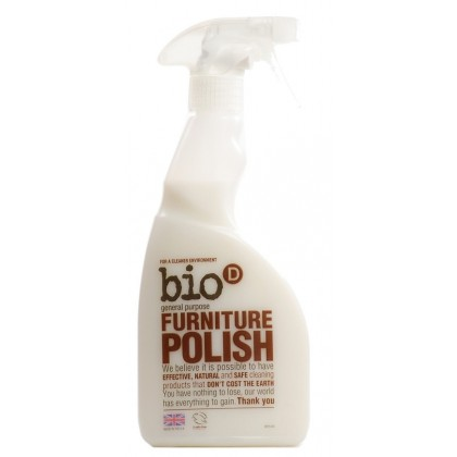 Bio-D - Furniture Polish Spray - 500 ml