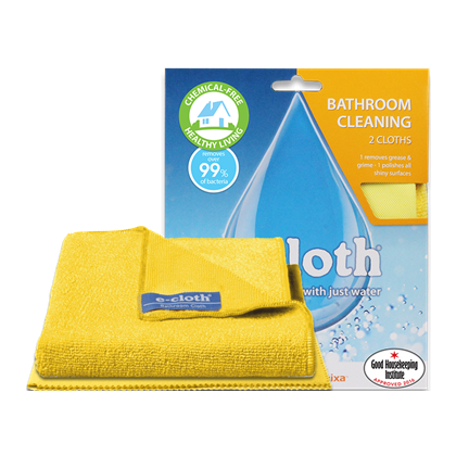 E-Cloth - Bathroom Pack - 2 Cloths