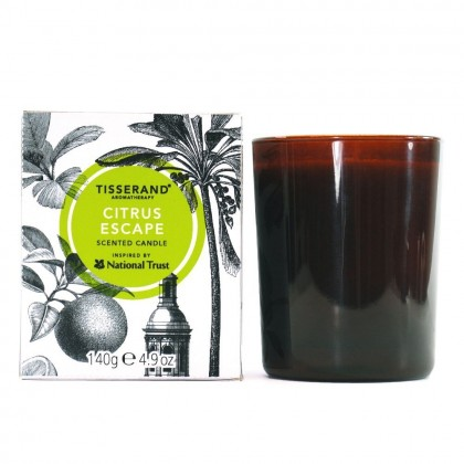 Tisserand Aromatherapy Inspired by National Trust Citrus Escape Candle
