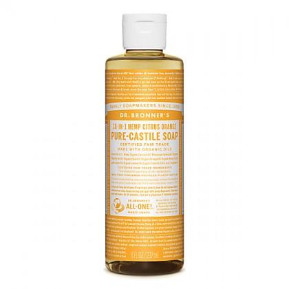 Dr Bronner's - Citrus - Pure Castille Liquid Soap - 08 oz/237 ml