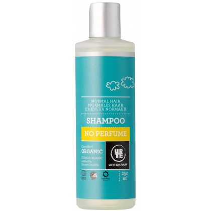 Urtekram - Shampoo (Normal Hair) -  No Perfume - 250 ml