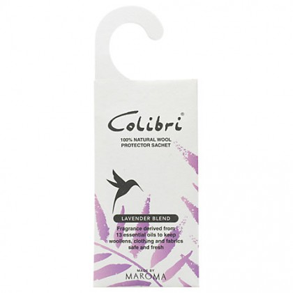 Colibri - Wool Protector - Hanging Sachet - Lavender