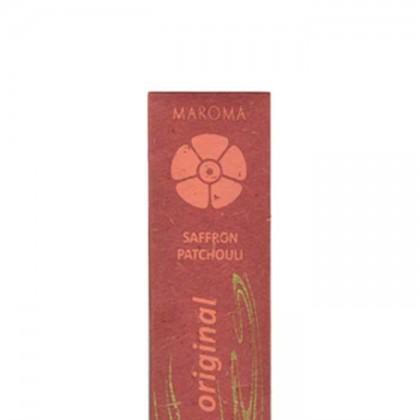 Maroma - Encens d'Auroville - Saffron Patchouli - 10 Incense Sticks