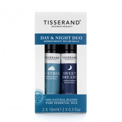 Tisserand - Day & Night Duo - Aromatherapy Roller Balls - 2 x 10 ml