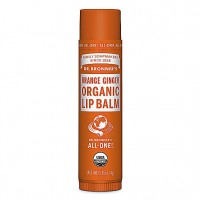 Dr Bronner's - Orange Ginger - Lip Balm - 4 gr