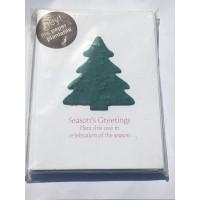 Botanical Paperworks- Plantable Spruce Festive Christmas Trees-Set of Six Plantable Gift Cards