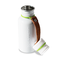 Black + Blum Water Bottle White