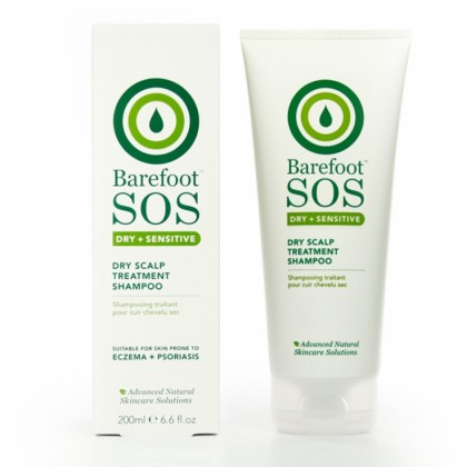 Barefoot SOS - Dry + Sensitive - Dry Scalp Treatment Shampoo - 200 ml