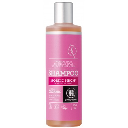 Urtekram - Nordic Birch - Normal Hair Shampoo - 250 ml