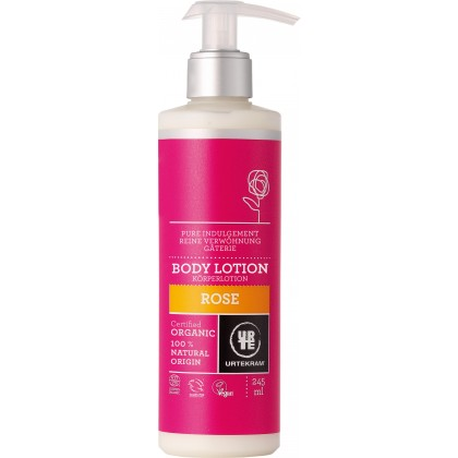 Urtekram - Rose - Body Lotion - 245 ml