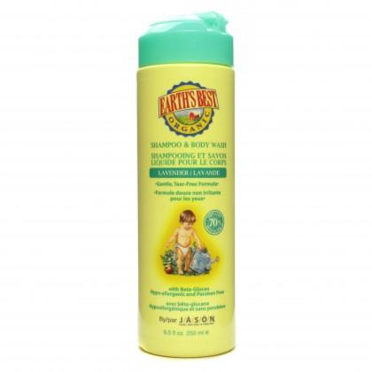 Jason - Shampoo & Body Wash - Lavender - 250 ml