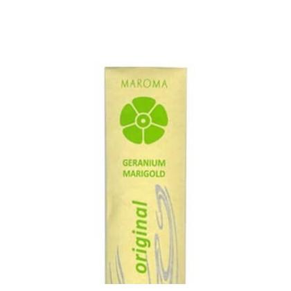 Maroma - Encens d'Auroville - Geranium Marigold - 10 Incense Sticks