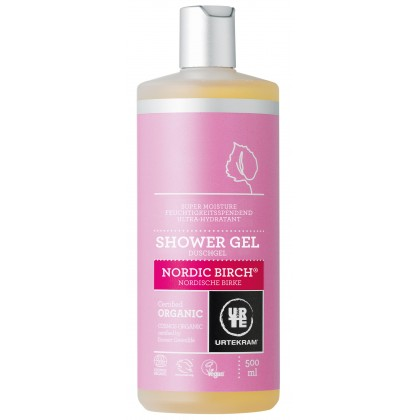 Urtekram - Nordic Birch - Shower Gel - 500 ml
